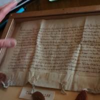 Document de fondation du couvent