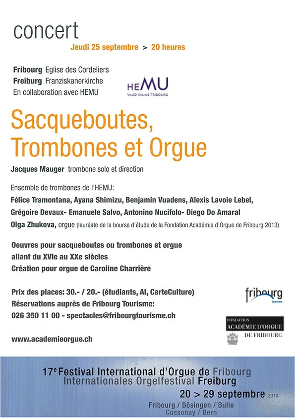 Fertival orgue - 25 septembre 2014